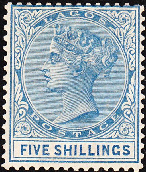lagos stamp SG28