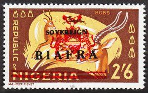 biafra stamps 2/6d kobs
