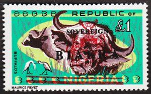 biafra stamps £1 buffalos