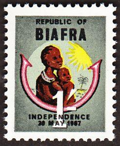 biafra stamps 1 shilling 1968 SG3