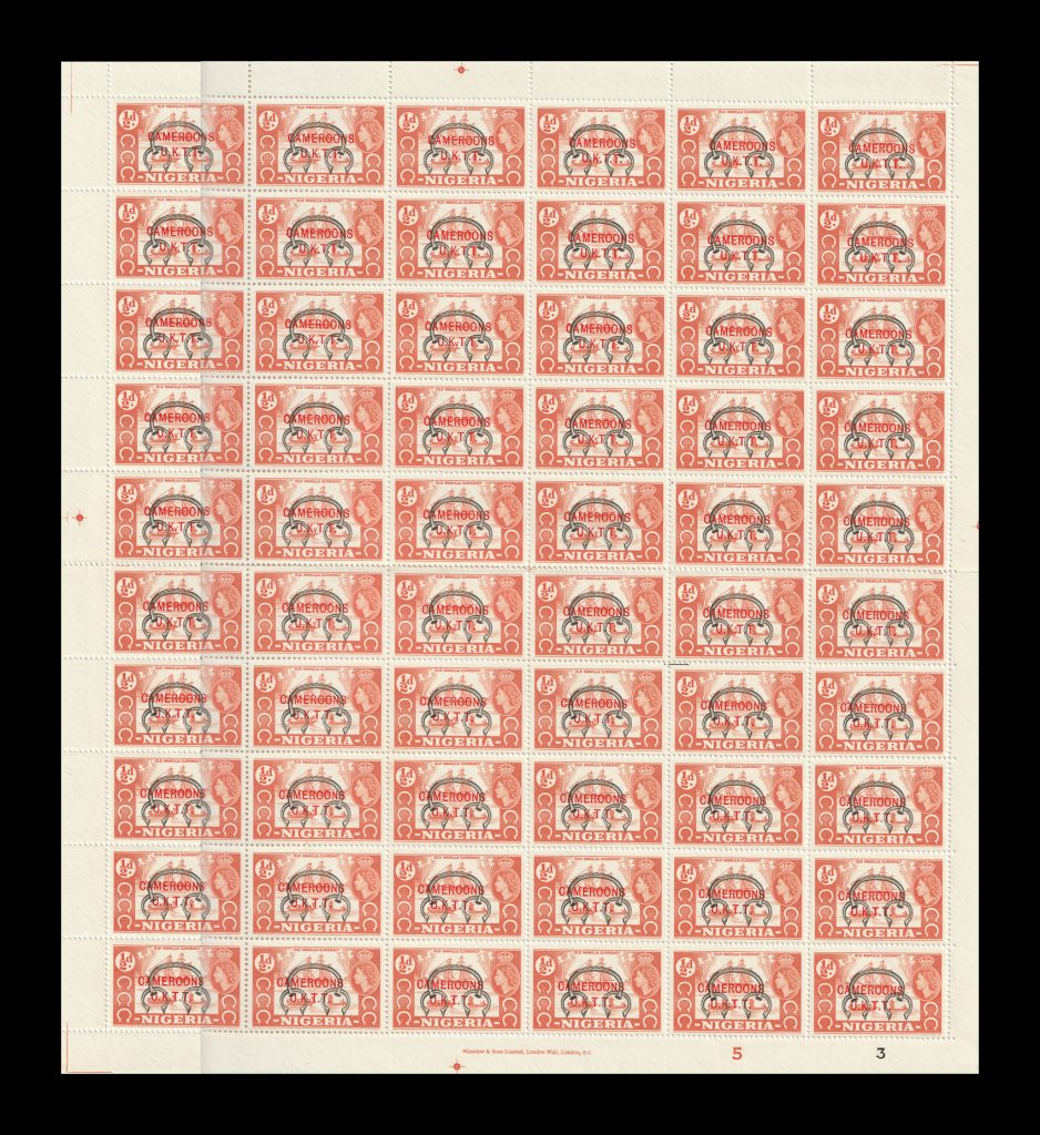 Cameroons UKTT stamps