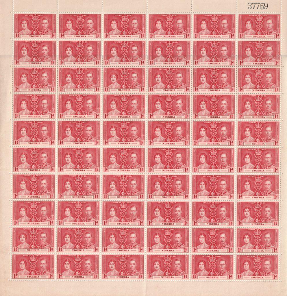 SG 46 Nigeria stamps