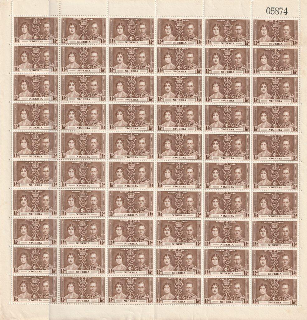 SG47 Nigeria stamps