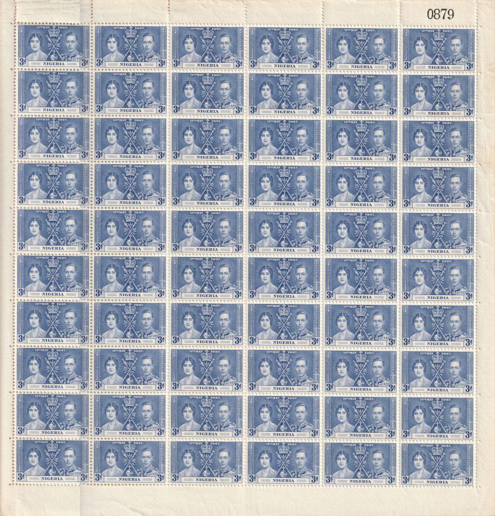 SG48 Nigeria stamps