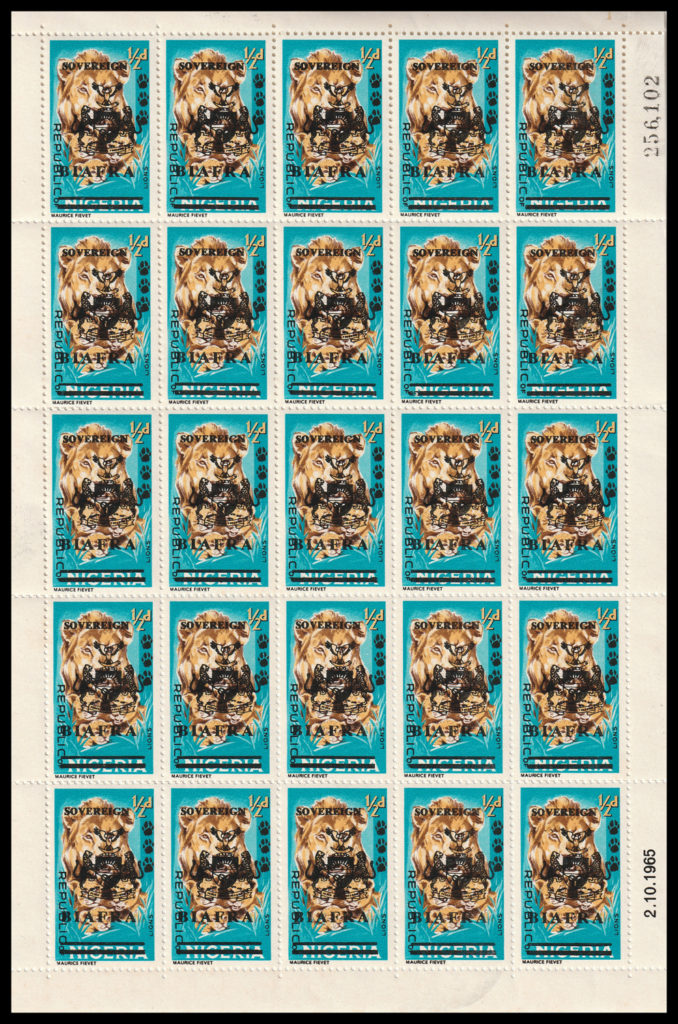 biafra stamps SG4