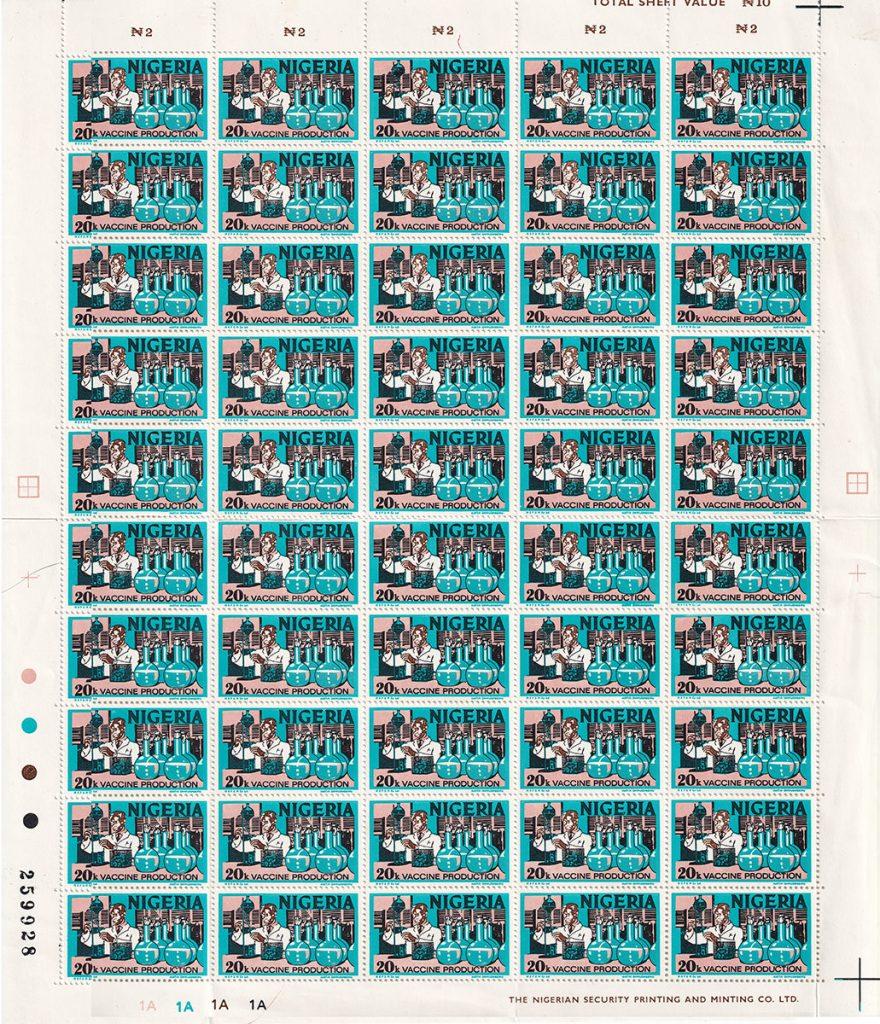 nigeria stamps SG286